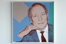 Druck von Andy Warhol