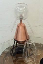 Destillierapparat mit Glasteilen