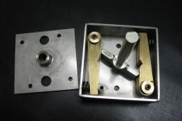 Beschlagmechanik für Doppelflügeltür