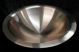 Taufschale aus Bronze gedrückt