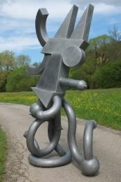 Skulptur nach Restaurierung