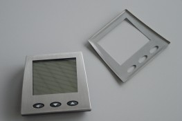 Bogenförmige Abdeckung für Elektronikgeräte