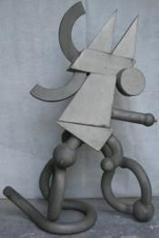 Skulptur vor Restaurierung