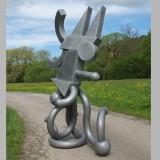Eduardo Paolozzi – Parrot - Aluminiumskulptur